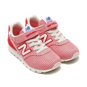 New Balance 996 kids red white stripe shoes US13